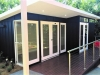 Mod Cabana No.23 for FORSIGHT AUSTRALIA - garden art studio for deafblind adults