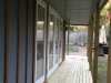 Verandah/Porch Design No. 20 with double doors and sidelights and picture window.