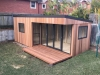 Garden Room Design, Espace 2000, Cedar Upgrade, Omit 2 x windows, RH model