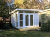 Mod Cabana No.12 with additional windows to maximise natural light. Art Studio for central coast NSW