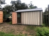 Workshed No.3254, bushfire upgrade, cement sheet & hardwood battens, no floor