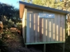 Mod Cabana No.20 with double doors and sidelights, ventilation window on end wall