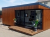 Espace 2000 with premium cedar cladding on display at Drummoyne Display Centre
