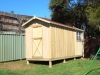 Workshed Design, No. 2054, with optional colonial bars fitted to window, Workshed Design, No. 3620, no verandah, cedar, custom air vent, roof colour, add gutters & Downpipes