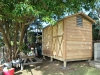 Workshed 2036 with cedar upgrade and double workshop doors