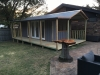 Verandah/Porch Design 20 with double doors and sidelights and picture window.