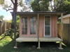 Verandah Design No.12 with double colonial (10-light) doors and full length window