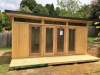 Mod Design No.18 with double glass doors and sidelights