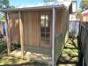 Verandah Design No.10 with colonial door and custom length verandah