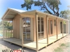 Porch Cabana No. 20, Custom Verandah, Additional Windows, Double Doors, Glass Doors,.jpg