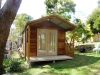 porch cabana 18 with double doors, cedar upgrade and extra doors and windows.JPG