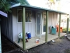 verandah cabana 18 with double doors, internal wall and painting by others.JPG
