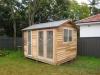 Verandah Design, No. 10, Cedar Upgrade with no verandah Double glass doors and extra Mod window.jpg
