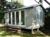 Verandah Design No. 18-after-painting-by-client-with-cedar-upgrade-double-door-upgrade-and-custom-double-doors-and-extra-fixed-glass-panels, removed verandah