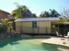 Porch Design, No. 20, Double Hung Window, Board & Batten
