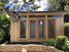 Mod Design No. 18 with double glass doors and sidelights