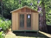 Porch Cabana No.12 with double glass doors & porch removed