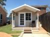 Porch Design 20 with colonial door upgrade, cedar upgrade and added window