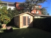 Cabana No.10 - cedar cladding, french doors and double doors with sidelights