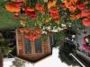 Porch Cabana with cedar upgrade and double glass doors