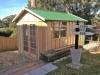 Porch Desgn with no porch, added colonial door upgrade