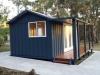 Verandah Design No. 20, Board + Batten, Painted by client, Double Doors & Sidelights upgrade