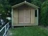 Porch Design No. 20, Board & Batten, Solid Double Doors 1