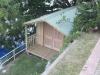 Porch Design No. 20, Board & Batten, Solid Double Doors 2