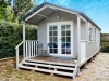 Porch Cabana No.20 with double french doors and additional double hung windows
