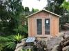 Custom size Porch Design, No Porch, Board & Batten, Double glass doors