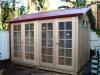 Verandah Design No. 10 with no verandah and 10-lite double doors