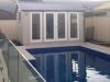 Verandah Design, No. 18 no verandah custom cladding double glass doors painted by others.jpg