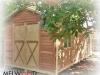 Verandah Design No. 23-with-double-doors-on-gable-end-Cedar Upgrade
