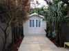 custom-Porch Design No.12-with-no porch, added custom-doors-and-timberwork