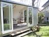 Veranda Design, No. 18 no verandah, cedar upgrade after painting by client