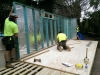 Installation is usually completed in one day by Melwood's qualified in-house teams