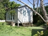 Veranda Design, No. 18, no verandah, cedar upgrade after painting by client
