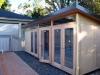 mod cabana 19 three sets double doors concrete slab custom cladding.JPG