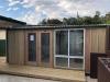 Mod Design No. 18, Board & Batten, Panorama Window, Double glass Doors, Custom Decking, Reversed roofline