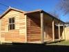 Verandah Design No. 20 with cedar cladding, cedar window and double glass doors.JPG