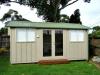 Verandah Design, No. 18 no verandah with 1 added window and aluminium doors, pale eucalypt colorbond.jpg