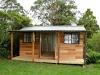 Verandah Design, No. 18, with cedar upgrade, added door and standard window. woodland grey colorbond.jpg
