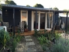 Verandah Cabana No.20 with double doors and sidelights.