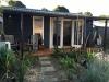 Verandah Design No.20, Board & Batten, Double doors, additional windows, Paintwork by client