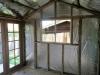 Verandah Cabana with 10-light doors and sliding window