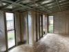 Mod Design No. 23, Board & Batten, No Battens, Reverse Roofline, Additional Windows, internal, lock-up stage