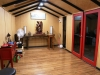 fitout by client - oriental style and feature beams in use as a bonsai studio.JPG