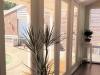 Double doors & sidelights allow great views to the pool area. Verandah Design 20