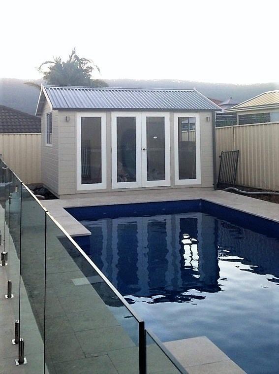 Melwood Pool Shed - cedar sheds made in Sydney