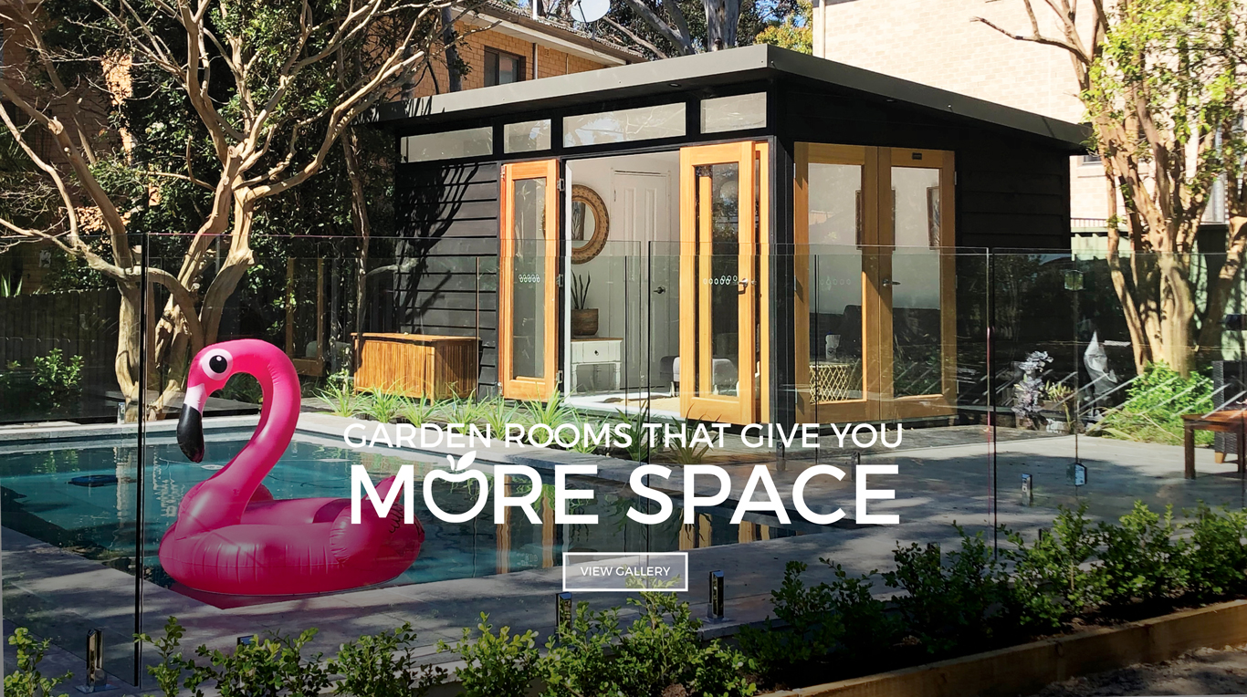 Melwood Cabanas and Garden Rooms that give you more space